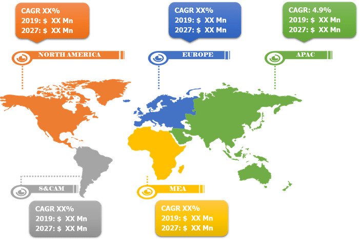 Lucrative Regions for Transdermal Drug Delivery System Market