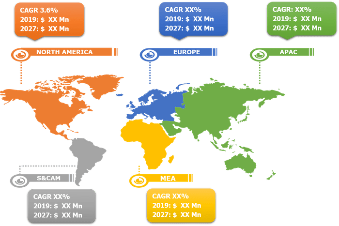 Global Animal Feed Market - By Region Breakdown, 2018