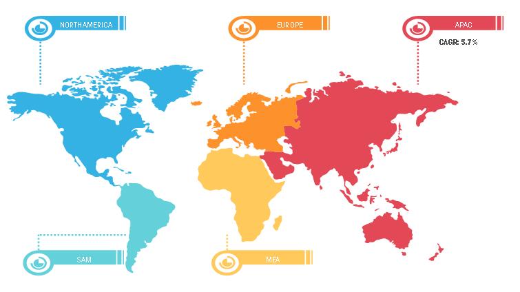 Global Floor Care Polymers Market Breakdown—by Region, 2019
