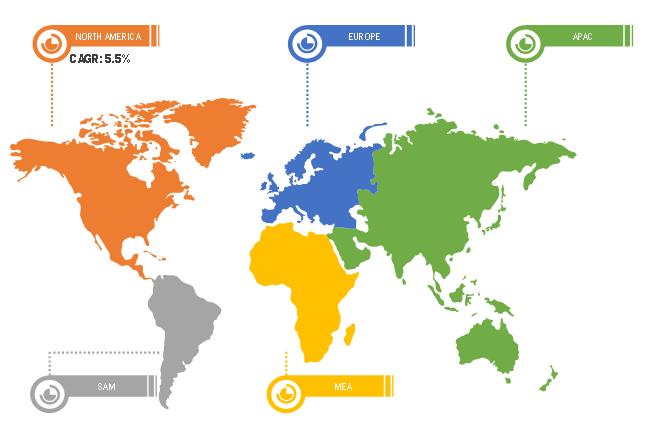 Global Fresh Pear Market Breakdown—by Region, 2019