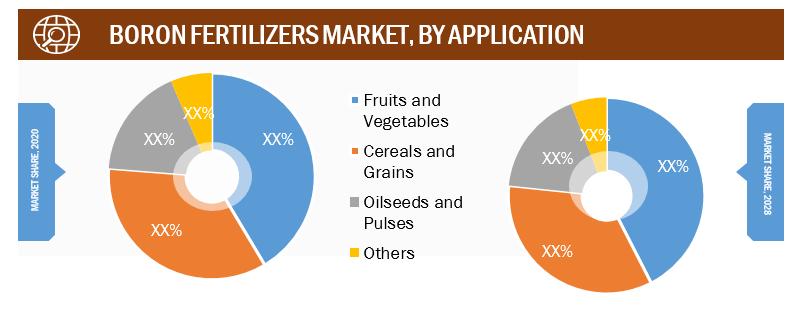 Boron Fertilizer Market, by Application– 2020 and 2028