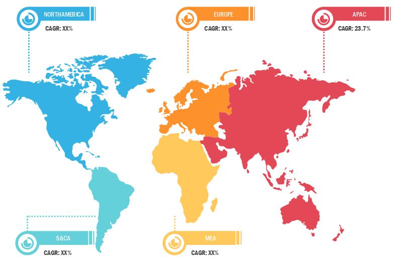 Lucrative Regions for Smart Lighting Market